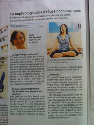 Article dans le Ouest France