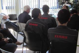 Rencontre avec les salariés de CLAAS