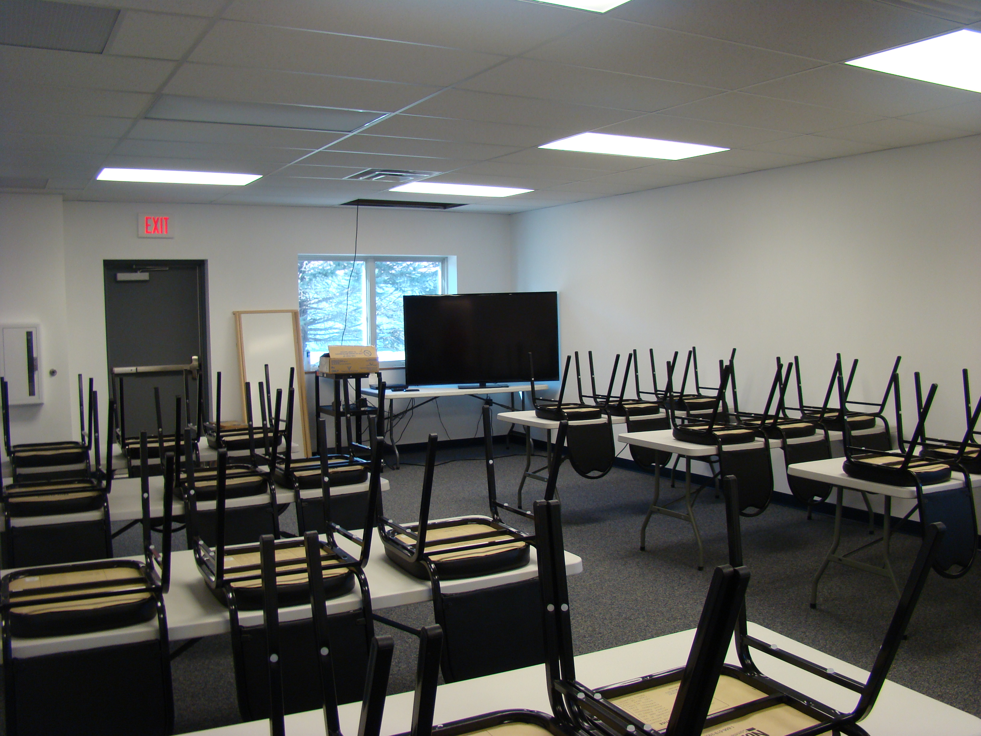 2013 Parke Co EMS Station Training Room