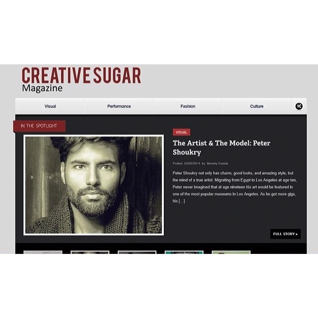 Featured in Creative Sugar magazine