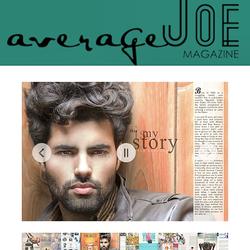 Featured in Average Joe Magazine