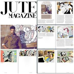 Featured in Jute Magazine