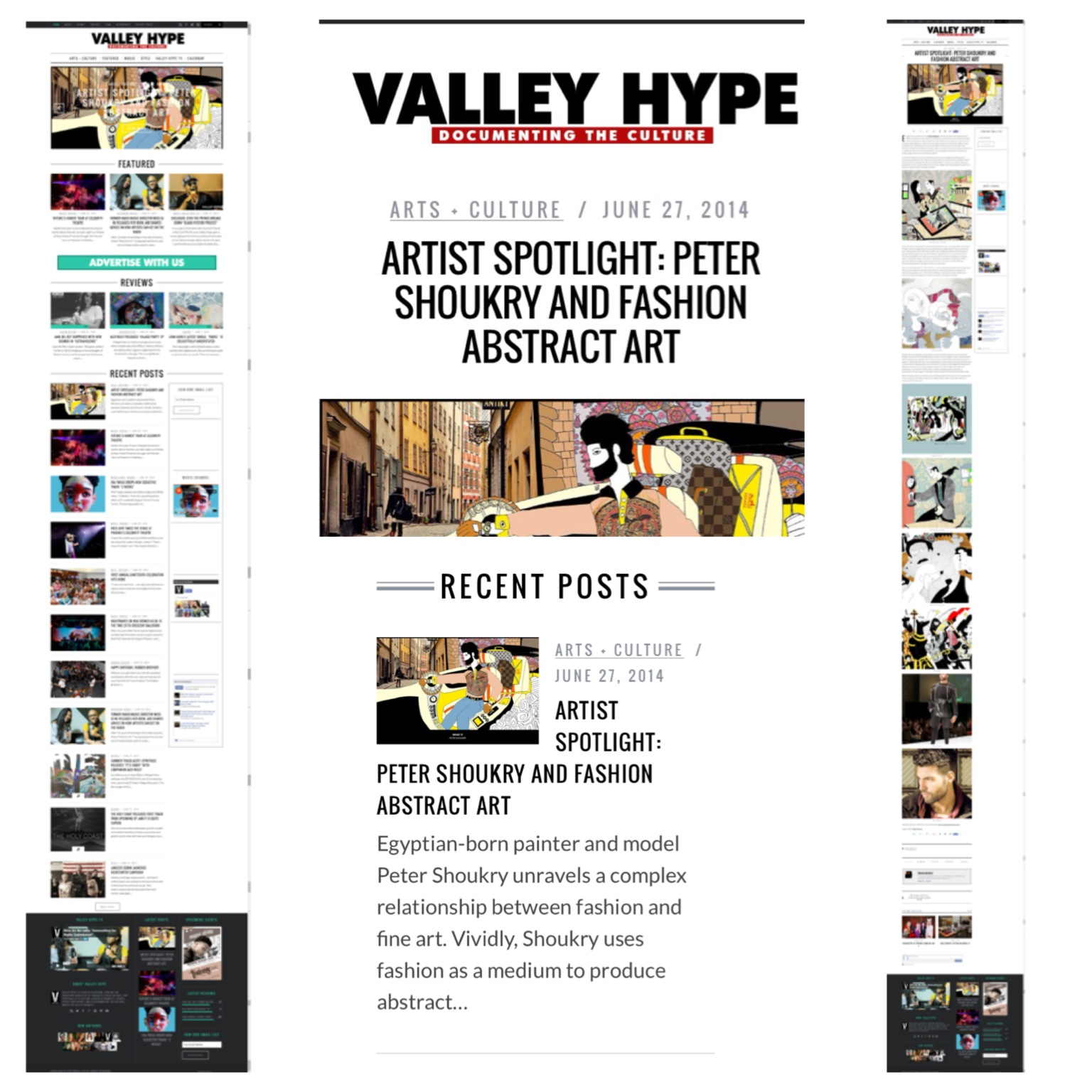 Featured in Valley Hype Magazine