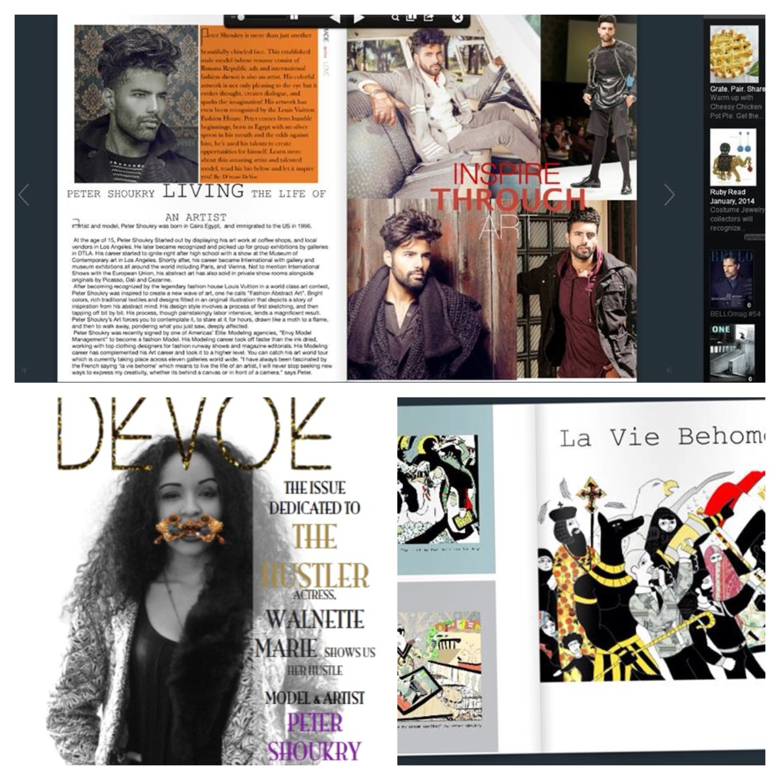 Featured in Devoe Magazine