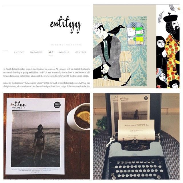 Featured in Entityy magazine