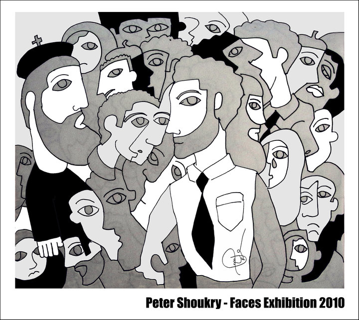 FACES EXHIBITION POSTER DTLA