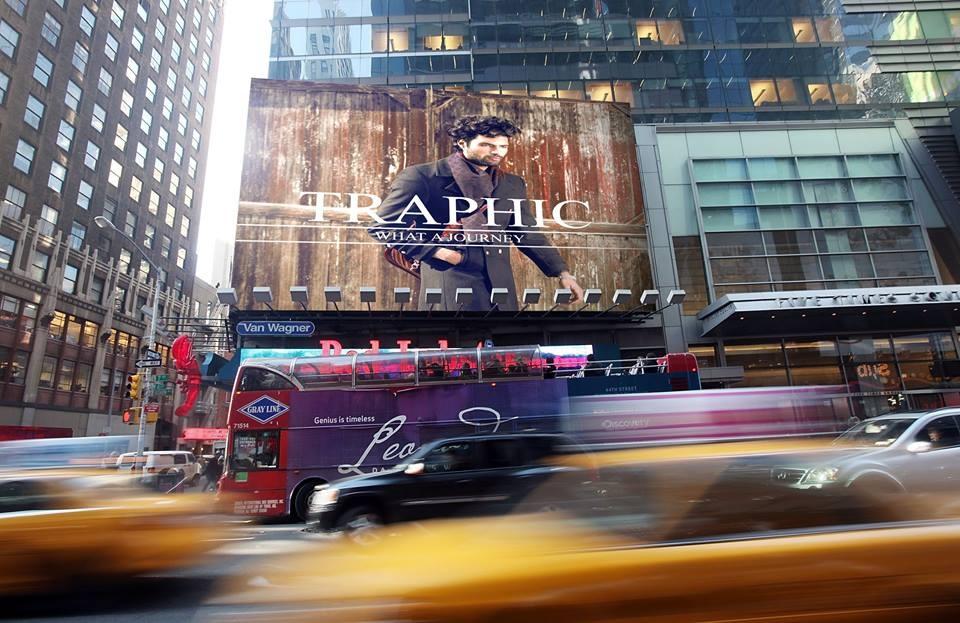 Billboard feature in Manhattan NY