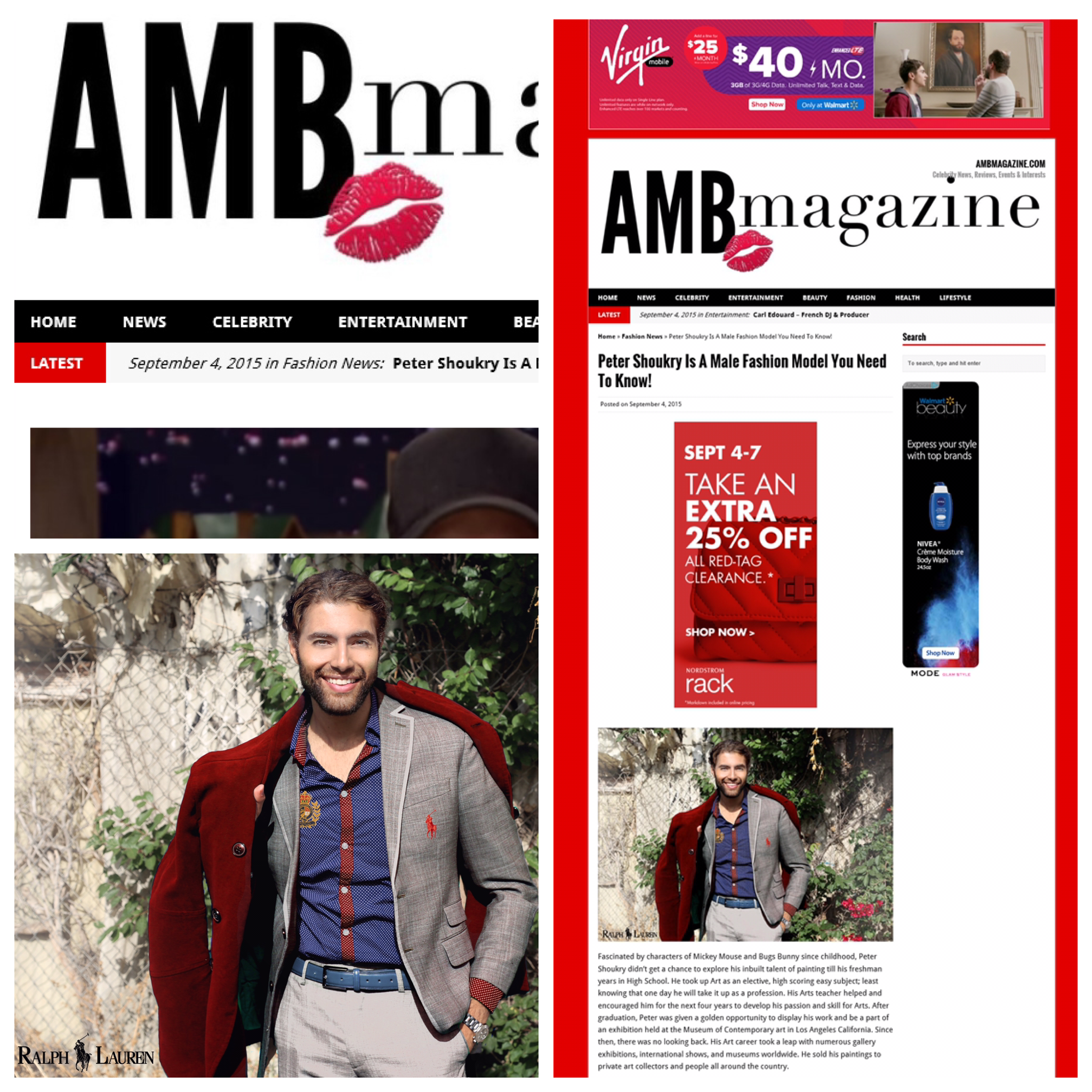Featured in AMB Magazine