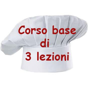 CORSO BASE COMPOSTO DA 3 LEZIONI 6 13 20