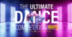 Female Modern Dancer competition advert graphic design