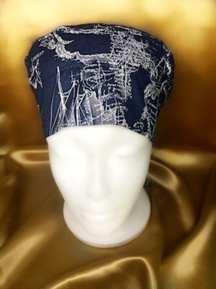 Deep Blue Sea Scrub Hat