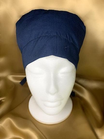 Navy Blue Scrub Hat