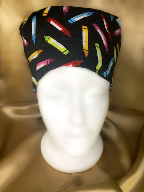 Crayon Love Scrub Hat