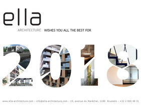 From all of us at Ella architecture...Happy New Year ! Many new projects to come, welcome 2018 !!!