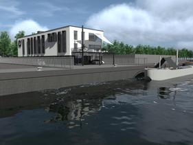 Permis pour une rénovation-transformation d'un immeuble de bureau au Canal !