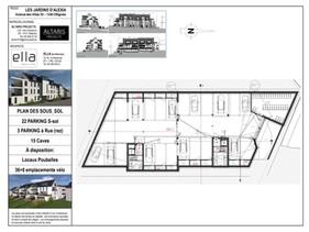 """PROJET """" Les jardins d'Alexia"""" - Avenue des villas 41-43 à Ottignies."""
