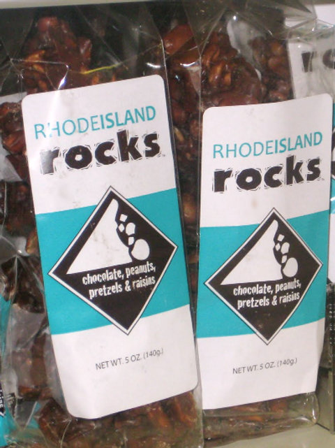 Rhode Island Rocks Chocolate Cluster Candy