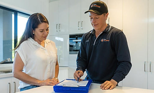 Home inspection at Total Pre Purchase Bu