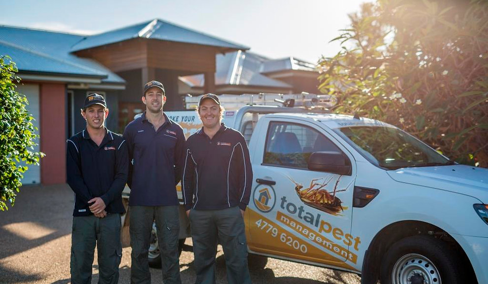 Meet the team at Total Pest Management Townsville. Fully qualified technicians.