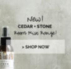 Cedar + Stone Room Mist