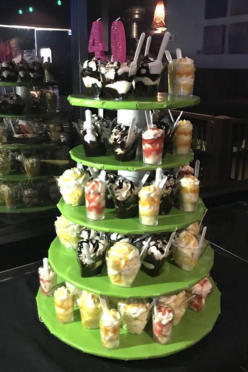Menehune desserts 1 dozen Cake shots