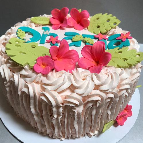 GUAVA CAKE  10 INCH serves 16-20