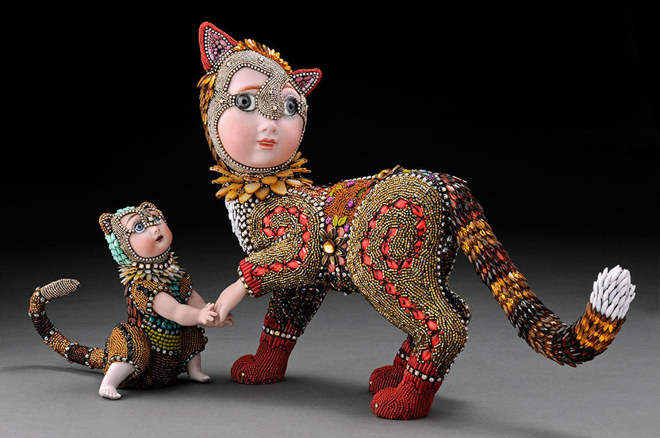 Beaded Objects by BETSY YOUNGQUIST