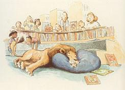 אריה הספריה - LOVE FOR BOOKS