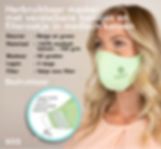 Mondmasker medisch katoen - bedrukt
