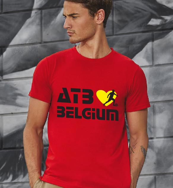 Rode t-shirt bedrukt