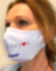 gepersonaliseerd mondmasker