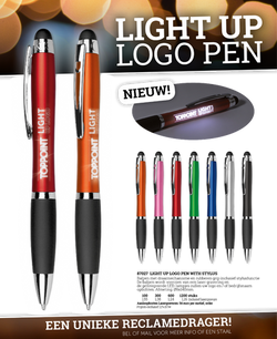 Light-up stylo's