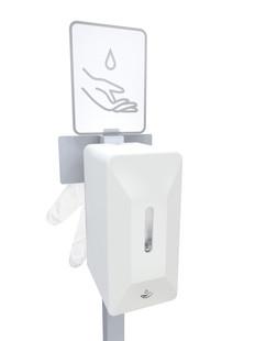 Automatische dispenser + handschoenen