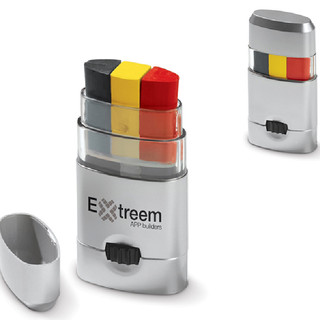 Belgische kleuren schmink