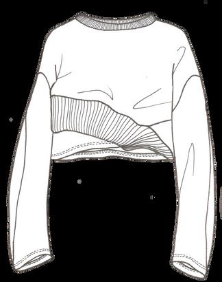T-shirt à manches longues femme - Création personnelle