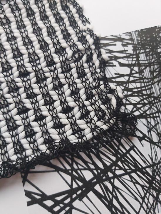 Création textile maille / Art1