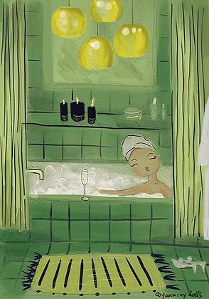 Evening bath