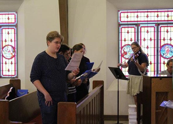Music Class at the Pastors meeting #soaringatfaith