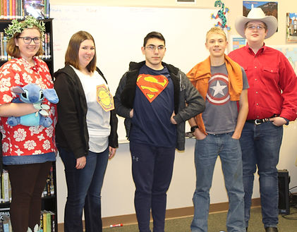 FLHS Character day
