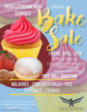 Copy of Bake Sale Flyer - Made with Post