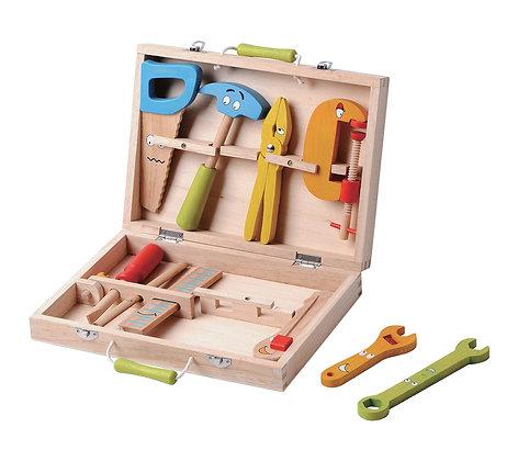 סט כלי עבודה מעץ