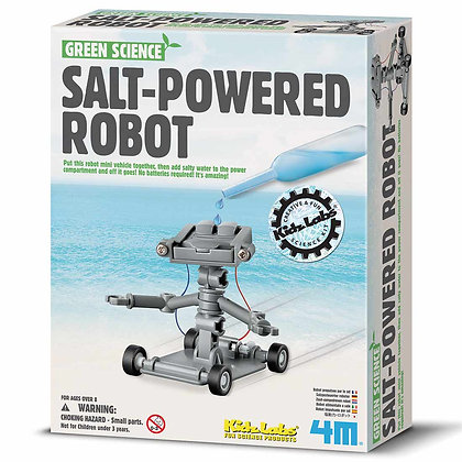 רובוט מונע במי מלח