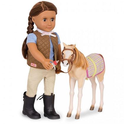 סייח סוס מוסטנג לבובה