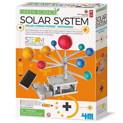 מערכת השמש סולרית היברידית