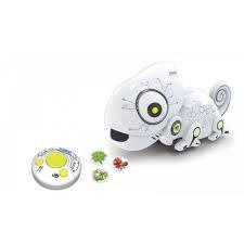 רובוט זיקית אוכלת דיסקיות
