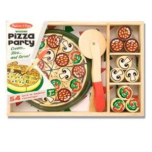 סט להכנת פיצה מעץ