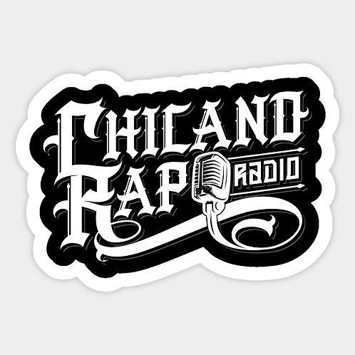 Chicano Rap Radio Sticker