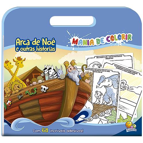 Mania de Colorir: Arca de Noé