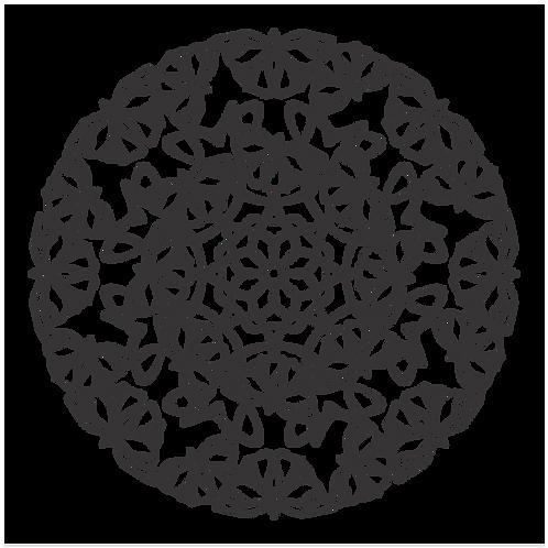 Mandala Borboletas