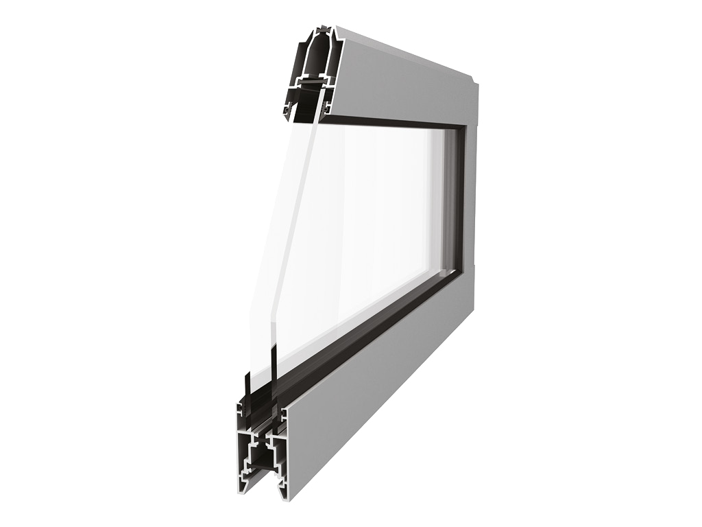 Панорамная панель с сиcтемой профилей T-bridge (с терморазрывом)